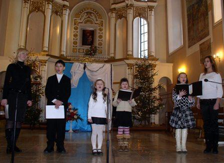 Спів Хмільницьких парафіян