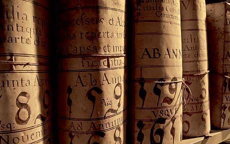 архів ватикану