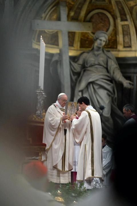 диякон і Папа