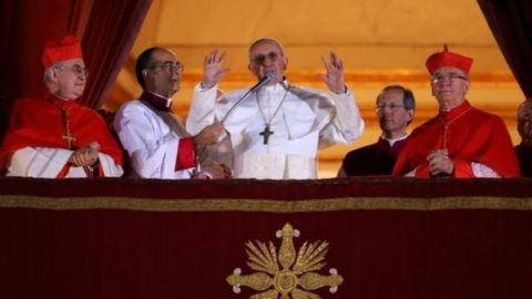 перша промова Папи Франциска