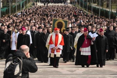 Паломництво семінаристів до Ченстохови