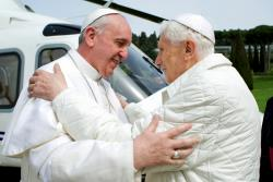 Зустріч двох Пап
