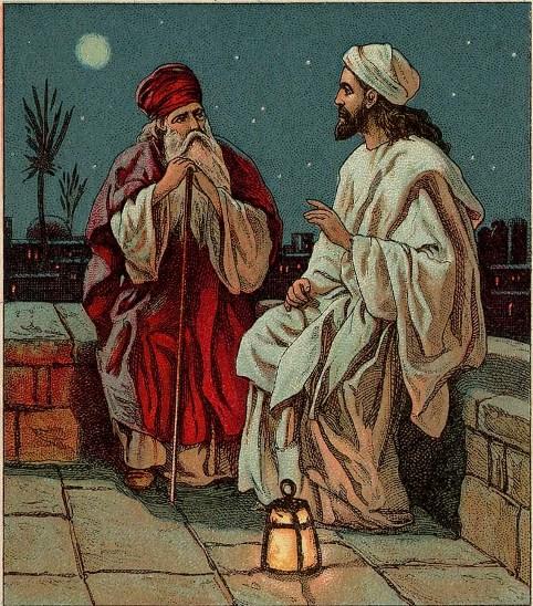 Ісус говорить з Никодимом