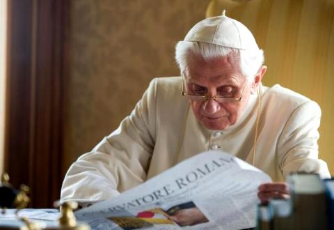 Бенедикт XVI  у Кастель Гандольфо