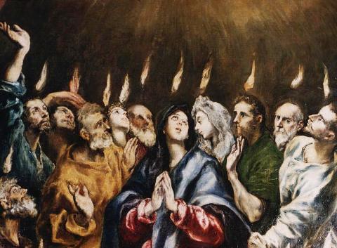 Ель Греко, Зіслання Святого Духа