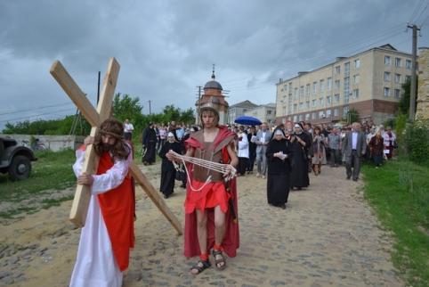 Всеукраїнська Хресна Дорога відбулася у Шаргороді