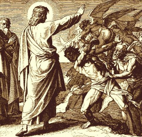Ісус виганяє демона