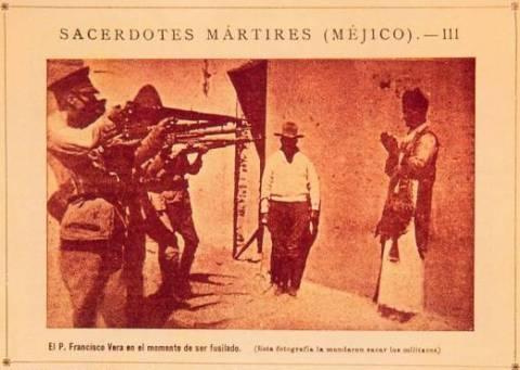 Розстріл священика, Мексика