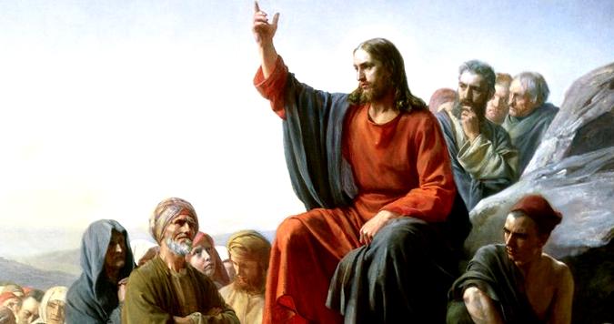 Ісус навчає люд