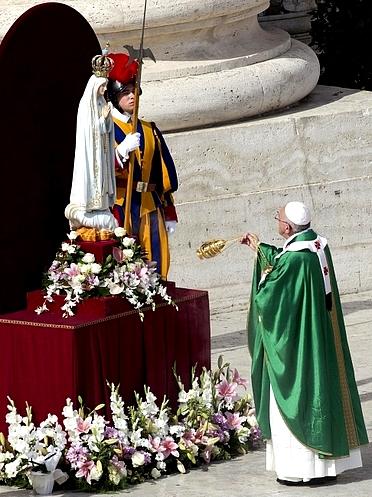 Ватикан, Мати Божа Фатімська