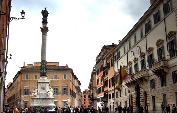 Рим, площа Іспанії