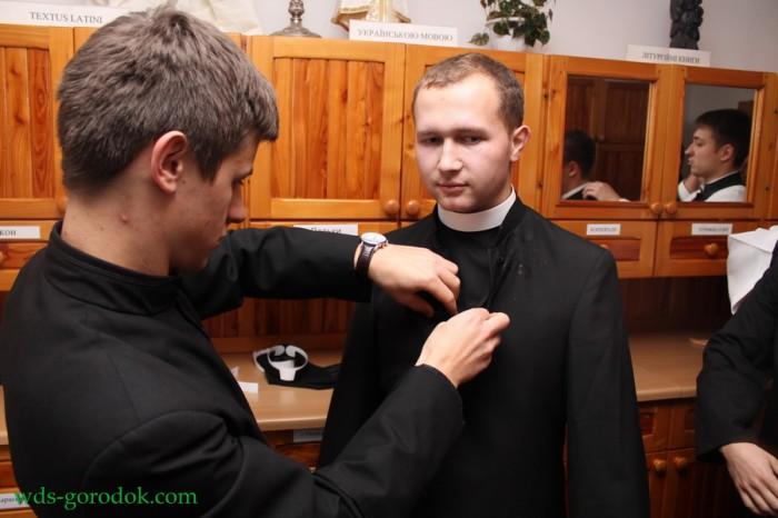 Облачини у Городоцькій семінарії
