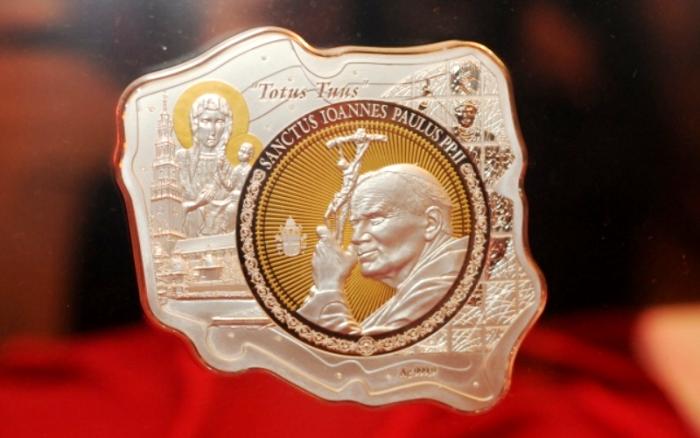 монета Йоана Павла ІІ