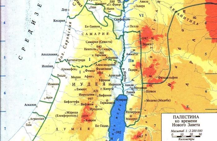 біблійна мапа