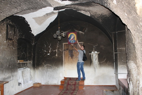 На Тернопільщині невідомі підпалили дві церкви