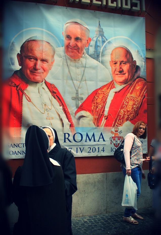 Паломництво на канонізацію Йоана ХХІІІ та Йоана Павла ІІ