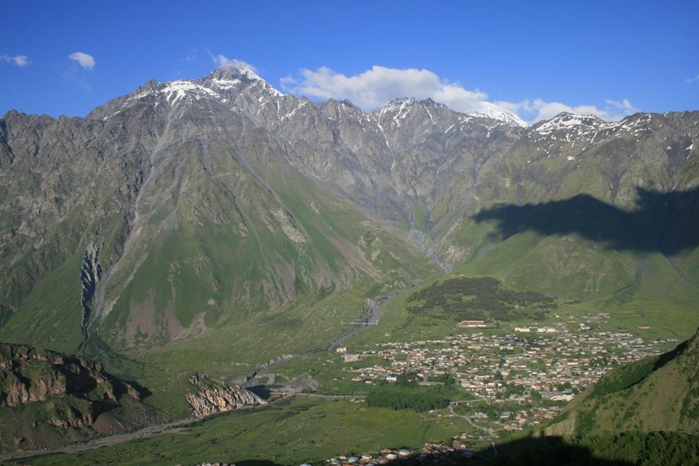 вигляд на Казбегі