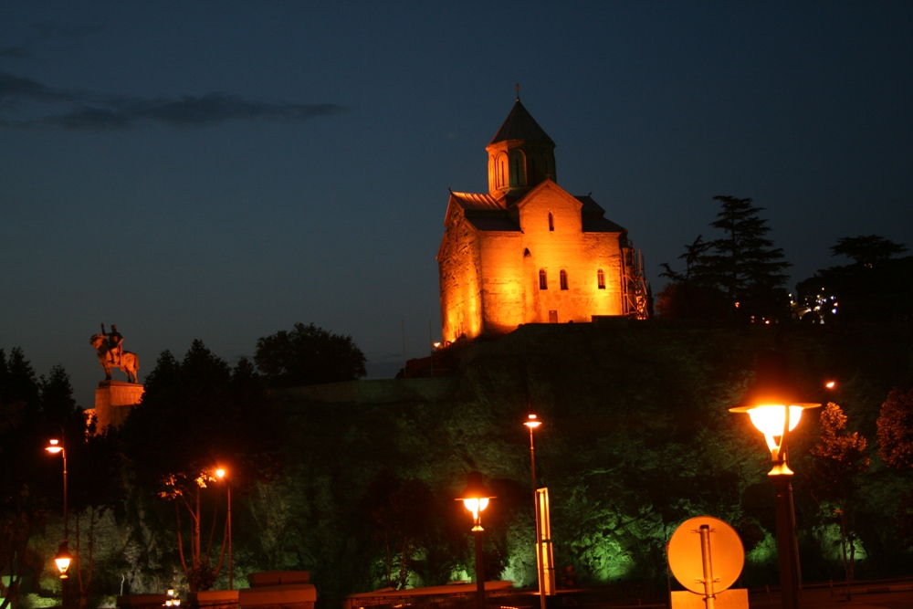нічний Тбілісі