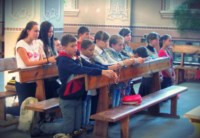 Дунаївці. Молитва