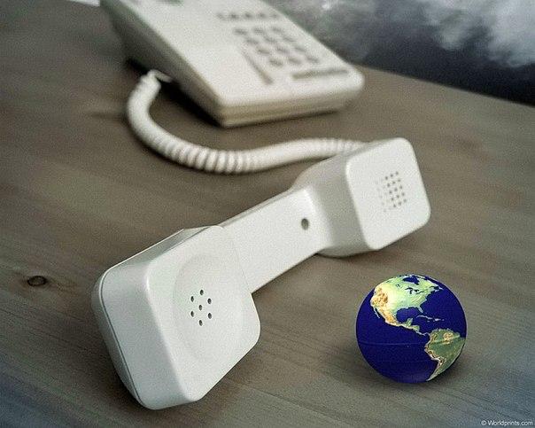 телефон земля