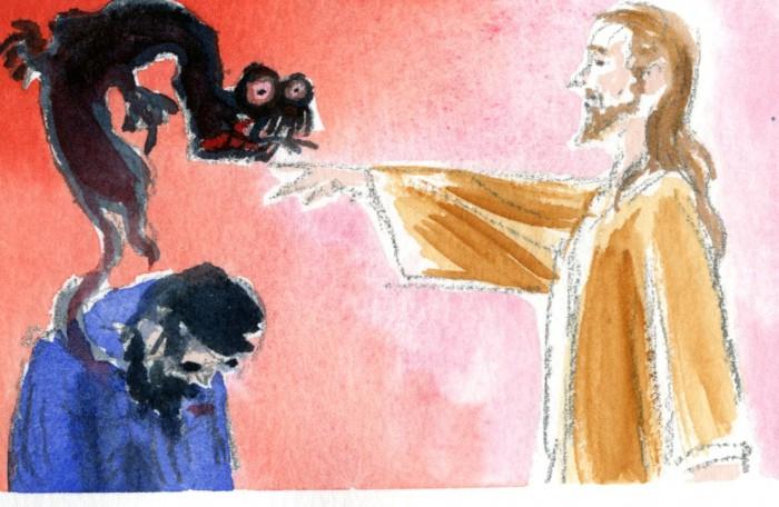 Ісус і демон