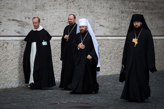 Митрополит Іларіон Алфєєв на синоді єпископів у Ватикані