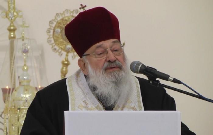 Любомир Гузар в Патріаршому Соборі УГКЦ
