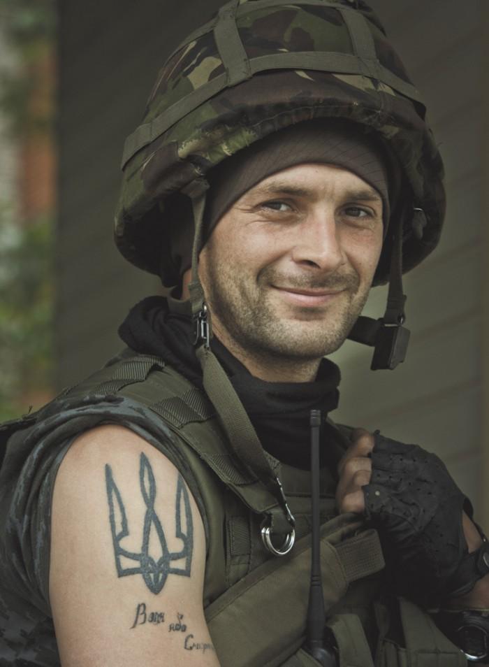 Військовий. Фото: Сергій Харченко