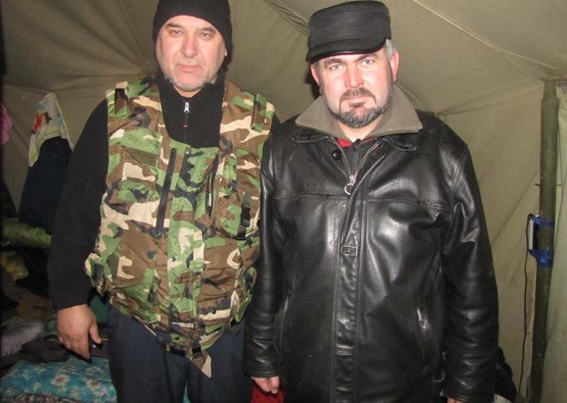 Розмова з отцем Василієм Довганюком, який нещодавно повернувся із зони АТО