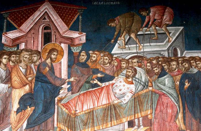 Ісус і паралітик