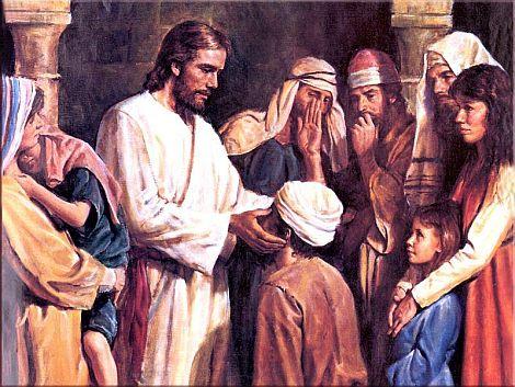 Ісус зцілює сліпого