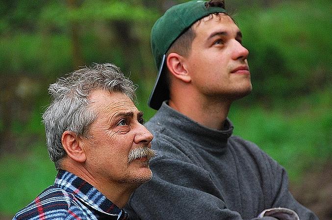 батько й син