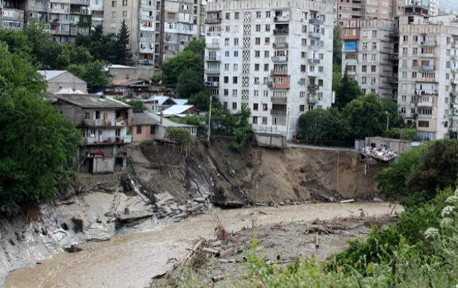 Повінь у Тбілісі