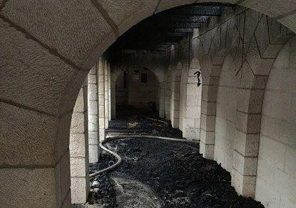 На Святій Землі підпалили церкву Помноження хлібів