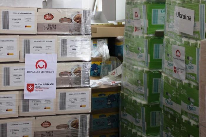 23 тонни допомоги для переселенців