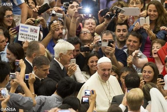 Папа аудієнція