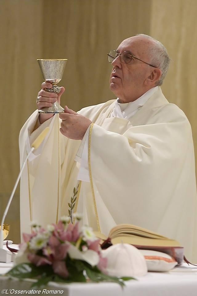 Папа Франциск. Ранішня Меса1
