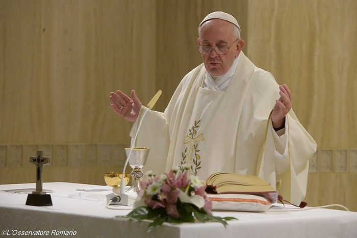 Папа Франциск. Ранішня Меса