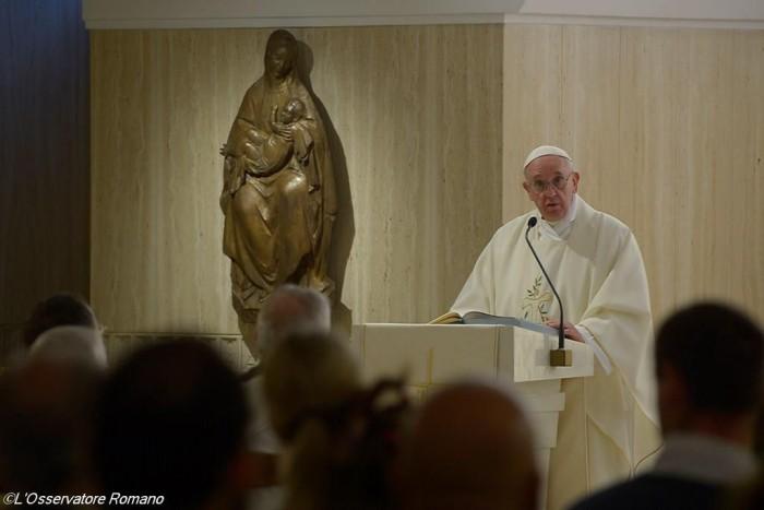 Папа Франциск. Ранішня Меса3