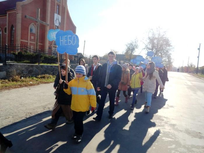 Зустріч зі святими у Новограді-Волинському