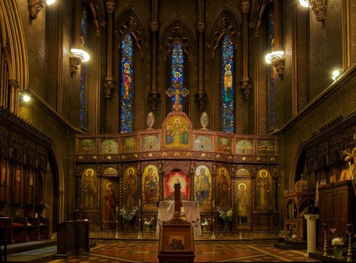 . Кафедральний ортодоксальний собор св. Сави (Нью Йорк, США)