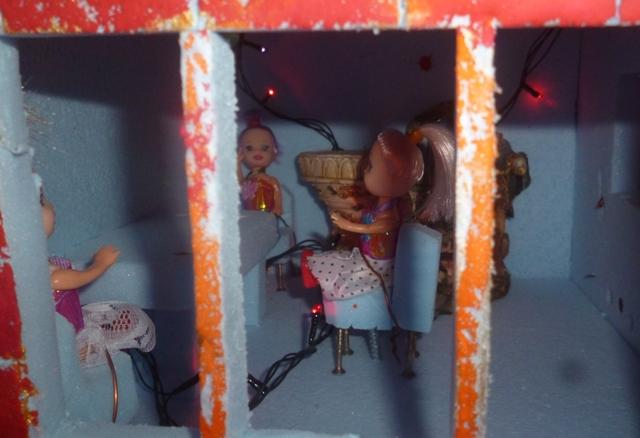 Вертеп у двокімнатній квартирі