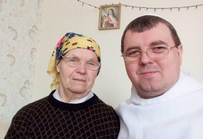 Лаврентій Жезіцький з мамою