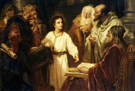 Знайдення Сина Божого у Храмі