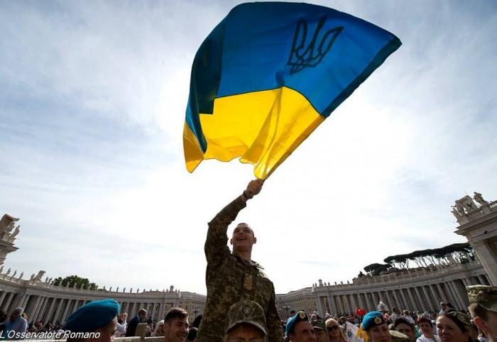 Папа благословив українських військових