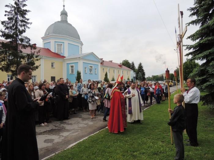 У Шаргороді пройшла Хресна Дорога «Бог милосердний, на сторінках Біблії»