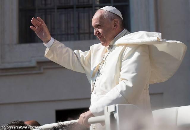 Папа Франциск. загальна аудієнція (2)_