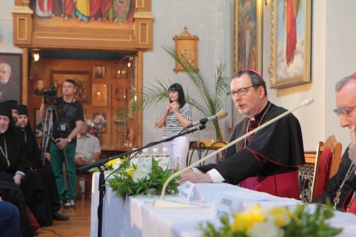 Кардинал Паролін у Запоріжжі
