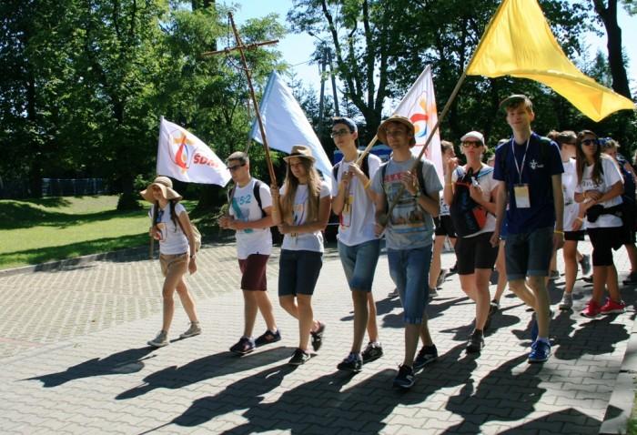 Учасники СДМ здійснили паломництва до польських санктуаріїв