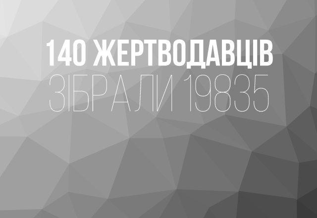 140 спонсорів